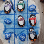 Tic-Tac-Toe-Weihnachtsmalerei - #weihnachtsmalerei - #New
