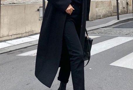 Woman All Black Outfits #woman #fashionoutfits #blackoutfit #fashiontrends #fashion