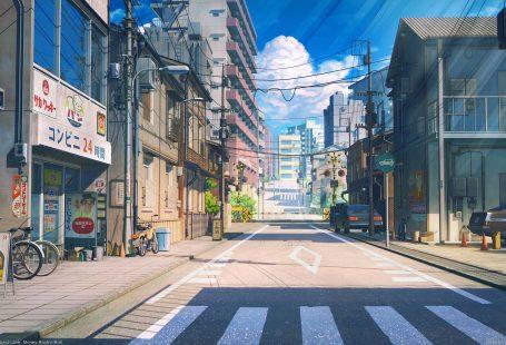 ArtStation - Tokyo street, Arseniy Chebynkin