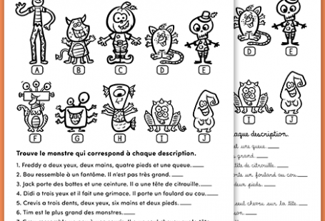 PDF Files Language: French Black & White 1 page per file Page size: 8.5 X 11 in.