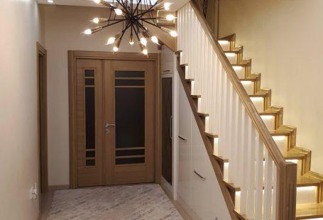 Merdiven, Avize, Sarkıt, Aydınlatma, Asma tavan, Led ışık, Antre