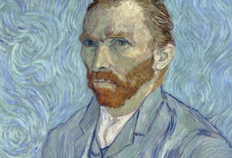 Vincent van Gogh, Self-portrait With Swirling Background (1889). Courtesy of the Musée d'Orsay, Paris.