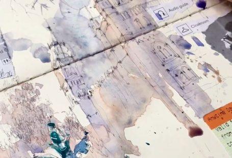 #watercolor #paint #painting #videoart #art #artwork