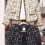 Inside Artist and Photographer Zoe Buckman's Closet and Home: Click to see Zoe's closet and read about where she buys those cool gold chains, how she feels about Carrie Bradshaw, and her biggest fashion regrets. -- Black and cream chanel coats