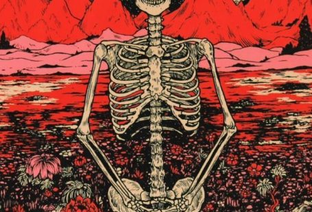 art red trippy iphone nirvana hippie hipster wallpaper peace skeleton backgrounds lockscreen - #Art #Backgrounds #hippie #hipster #iPhone