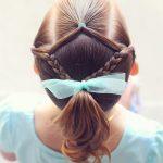 magnifiques coiffures pour petites filles à l