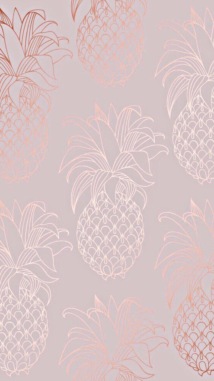 pink pineapple design aesthetic Watercolor Wallpaper Phone Iphone Wallpaper Ima