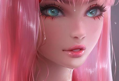 schöne, schöne Mädchen, Schönheit, Cartoon, bunt, Design, Zeichnung, Mode, ...,  #bunt #Cartoon #Design #Mädchen #mode