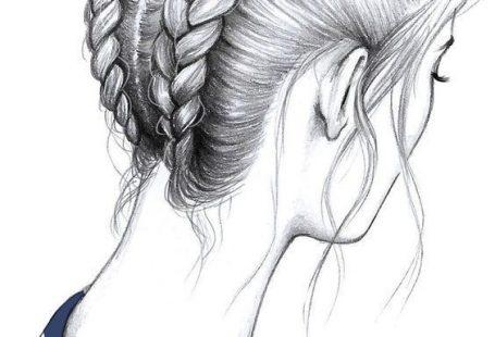 schönes Mädchen zeichnen. Besuchen Sie meinen Youtube-Kanal, um zu zeichnen und … - Haar und Schonheit - #architektur #Besuchen #Haar #Mädchen
