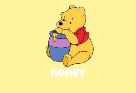 winnie the pooh yellow honey wallpaper - Florence drct - #drct #Florence #honey #Pooh #Wallpaper