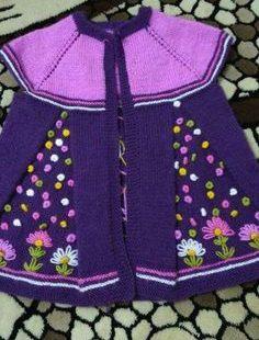 Beautiful colours / Girls Matinee Coat