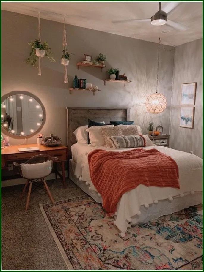 ✔25 Beautiful Teenage Girl Bedroom Decor Ideas To Make More Fun #teensbedroom #bedroomdecor #teenagegirlbedroom #girlbedroom