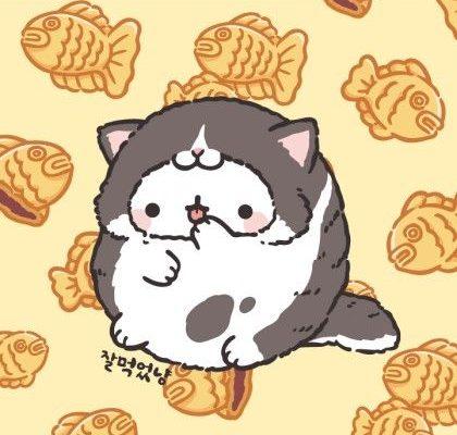 고양이옷 입은 몰랑이! 몰냥이 배경 12장!♡ : 네이버 블로그