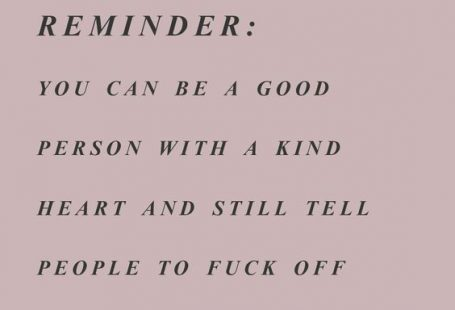Reminder: You can be a good person with a kind heart and still tell.... www.FunctionalRus... #functionalrustic #quote #rustic #signs