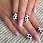 Cow Print Nail Polish Trend