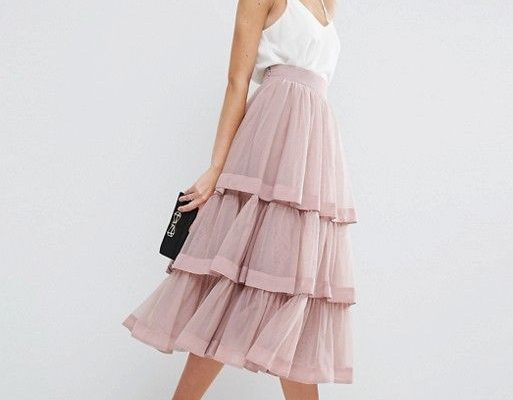 Tiered Skirt - www.thefashionhou... - The Fashion Hour Blog
