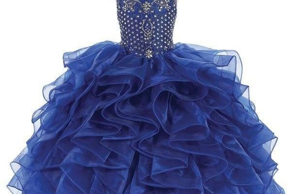 Girls Organza Pageant Dress in 4 Beatiful Colors Sizes 2T-16