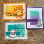 How to make Easter Handmade cards using the Welcome Easter stamp set