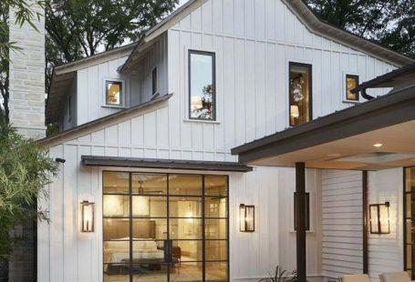 White Siding Home Exterior #home #style