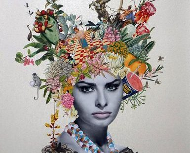 Maria Rivens - Collage artist