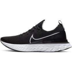 Nike React Infinity Run Flyknit Herren-Laufschuh - Schwarz Nike
