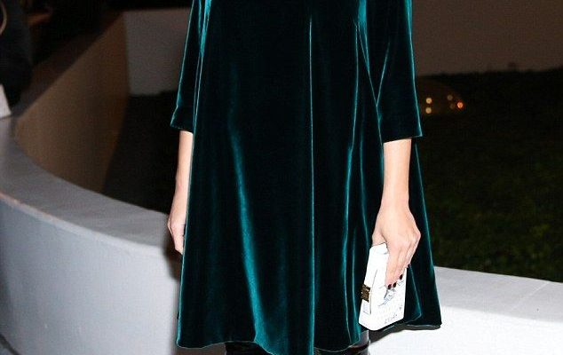 Style queen: The French beauty - who is expecting her second child with partner Guillaume ...