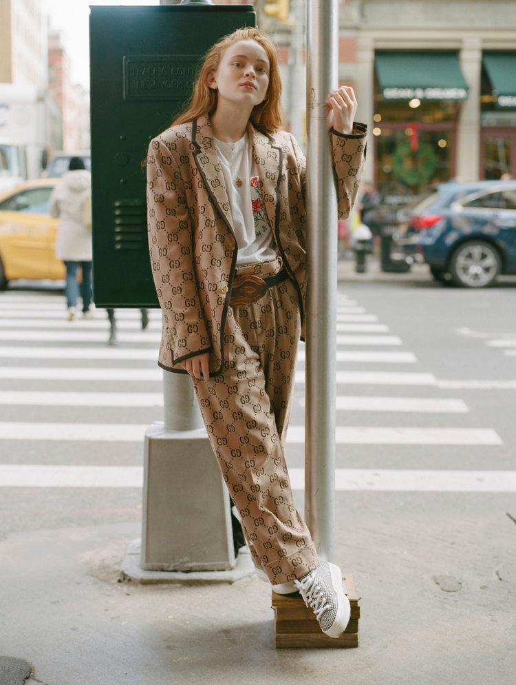 SADIE SINK — SHIBON KENNEDY   Fashion Editor + Stylist
