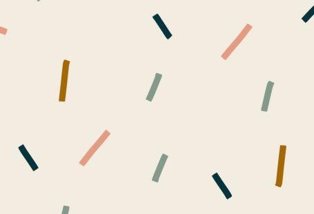 Saupoudrez le motif répété de confettis créé dans Procreate sur iPad Pro. fond d
