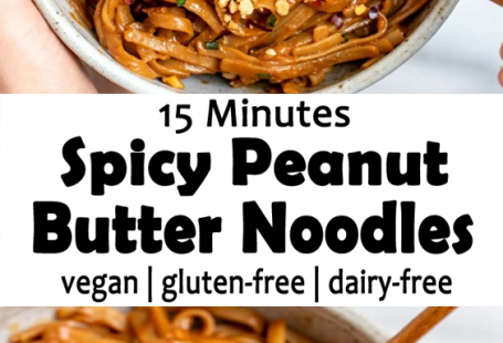 15 Minuten würziges Erdnussbutter-Nudel-Rezept, #ErdnussbutterNudelRezept #Minuten #Würziges