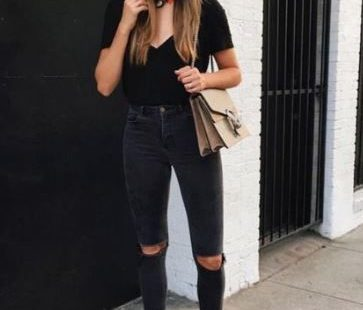 cute summer street style outfits! #platformsneakers #summerstyle #streetstyle