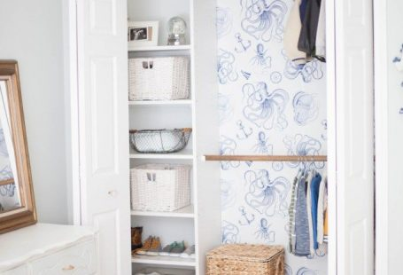 Tips for installing removable wallpaper from Walls Need Love and a cute way to add a big impact to your kid