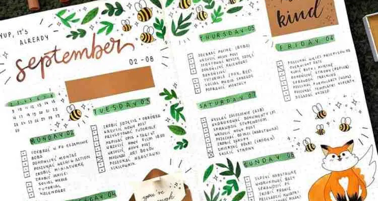 The best bullet journals you NEED to follow! Find tons of inspiration, spreads, and incredible bullet journaling artists who serve the bujo community the best ways possible. You need to follow these accounts in 2020! #bulletjournal #bujo #artist
