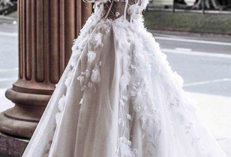 24 Awesome Ball Gown Wedding Dresses You Love ★  ball gown wedding dresses off the shoulder low back floral appliques leahdagloria #bridalgown #weddingdress