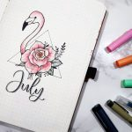 40+ Bullet Journal Monthly Cover Ideas Only For Artistic Souls - Neida_125 - #Artistic #Bullet #cover #Ideas #journal
