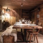60 Cosy Home Decor To Copy Today #chalet #diningroom #restaurant #dining