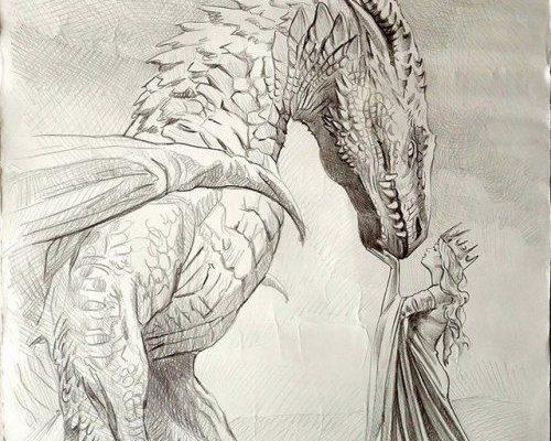 ANTONELLO VENDITTI visual artist painter fantasy illustrator #artanddrawing Beautiful drawing #dragon #drawing #art #artwork