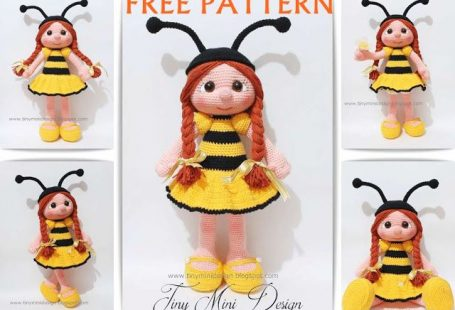 Amigurumi Bee Girl Free Pattern
