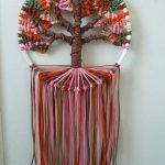Autumn Tree of Life 9 inches/23 cm diameter Dreamcatcher Boho