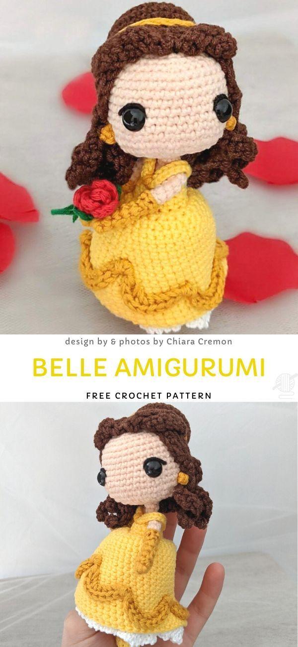 Belle Amigurumi Free Crochet Pattern Wallpapers