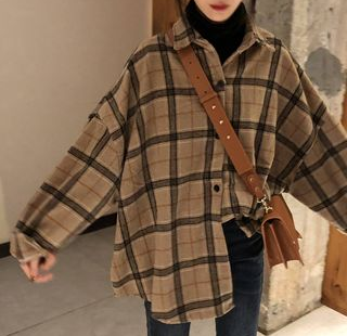 Buy Einshine Plaid Shirt at YesStyle.com! Quality products at remarkable prices. FREE Worldwide Shipping available!