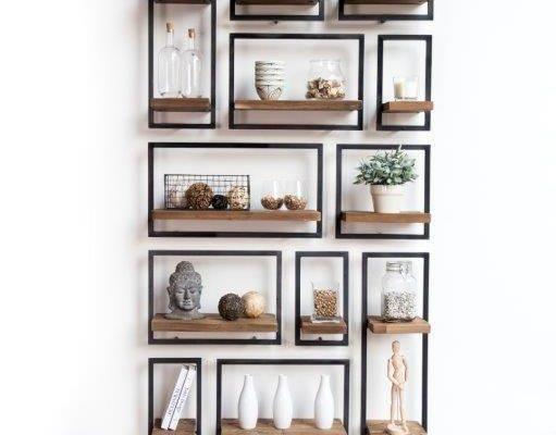 Creëer je eigen collage aan de muur met Shelfmate - Meubeltrack blog