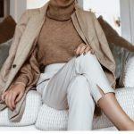 De mooiste nude tinten voor de zomer #mode Neutral tone outfit, beige and brown