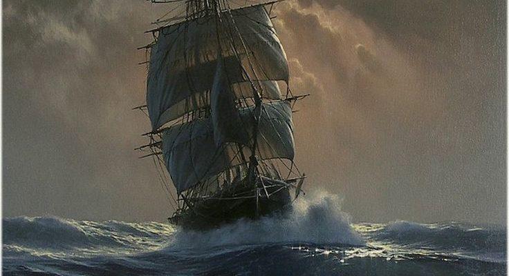 Die hyperrealistischen Ölgemälde von Marek Rużyk fangen den herrlichen Glanz der Schiffe auf See ein