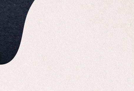 Blue patterned on beige background illustration