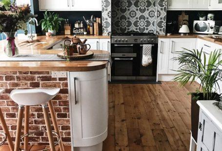 Ein schnelles (ish) Kitchen Update - #backsplash #ein #ish #Kitchen #schnelles