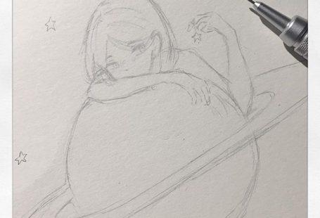 Ein sehr schnelles Gekritzel #doodle #art #oc #anime #Zeichnung #sketch