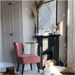 Penelope Accent Stuhl, Samt Polsterung, Leopardenprint Stuhl Bein Stil: Walnussbeine Cult FurnitureC