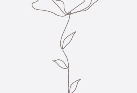 Flower Abstract Line Art Print, Minimalist Art Print (Digital Print) — Minimalism #geometriclineart Elevate your space with our wall art, abstract art, abstract wallpaper, minimalist wallpaper, art prints and minimalist art