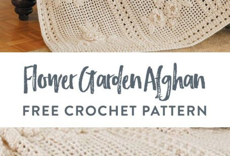 Flower Garden Afghan free crochet pattern in Red Heart Soft. Once in a while you come across a pattern that inspires you to create a timeless keepsake - like a crochet blanket! Explore this gorgeous pattern with its delicate flowers that grace an open mesh background, for an elegant yet cozy look. Red Heart Soft gives it a vintage vibe in Off White, but you can make it as lively as you imagine, to create an original that has meaning for you.