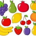 Fruits And Vegetables Clip Art Collection Clipart Bundle
